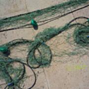 Neptune Green Art Print