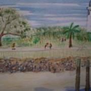 Neptune Park Art Print
