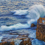 Neptune's Embrace Art Print