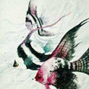 Neptunes Trio Art Print
