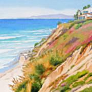 Neptune's View Leucadia California Art Print