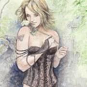 Nerine At Trillium Art Print
