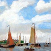Netherland's Harbour Art Print