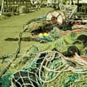 Nets N Ropes  Art Print