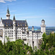 Neuschwanstein Castle Of Germany Art Print