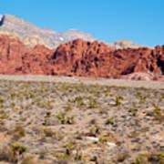 Nevada's Red Rocks Art Print