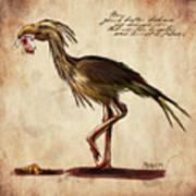 Never Bird Print by Mandem