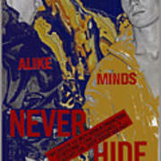 Never Hide Art Print