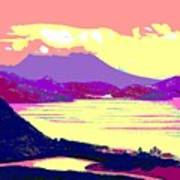 Nevis From The Penninsula Art Print