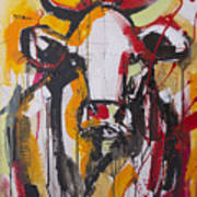 New Breed Cow 3 Art Print