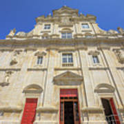 New Cathedral Of Coimbra Art Print