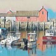 Rockport, Massachusetts Art Print
