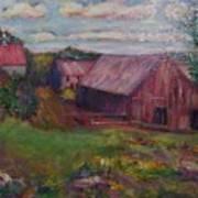 New England Farm Art Print