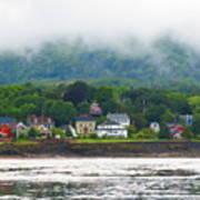 Granville Ferry Nova Scotia Canada  Fog Lifting Art Print