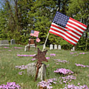 New England Graveyard Art Print