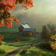 New England Landscape Art Print