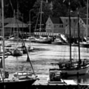 New England Seaside Art Print