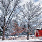 New England Winter Art Print