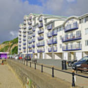 New Flats Overlooking Sandown Esplanade Art Print