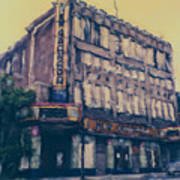 New Granada Theatre Art Print