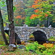 New Hampshire Bridge Art Print