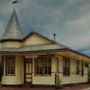 New Hope Train Station Art Print