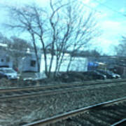 New Jersey From The Train 4 Art Print