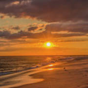 New Jersey Has The Best Sunsets - Cape May Art Print