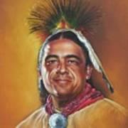 New Mexico Apache Dancer Art Print