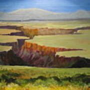 New Mexico Canyon Art Print