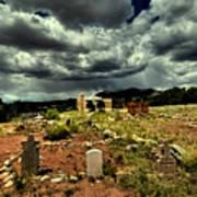 New Mexico Graveyard Art Print