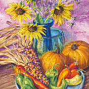 New Mexico Harvest Art Print