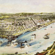 New Orleans, 1851 Art Print