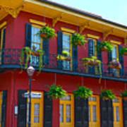 New Orleans Balcony Art Print