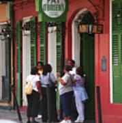 New Orleans Bourbon Street 2004 #44 Art Print