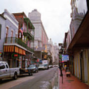 New Orleans Bourbon Street 2004 #45 Art Print