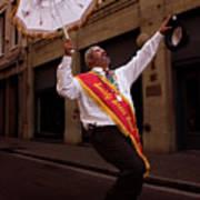 New Orleans Brass Band Leader Art Print