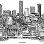New Orleans Art Print
