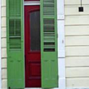 New Orleans Door 11 Art Print