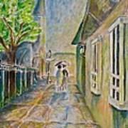 New Orleans French Quarter Art Print