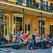 New Orleans Jazz 2 Art Print