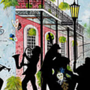 New Orleans Magic Art Print