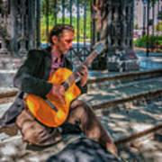 New Orleans Musician - Chris Craig Art Print