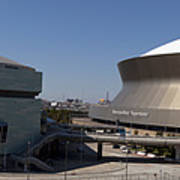 New Orleans Sports And Entertainment Complex Art Print