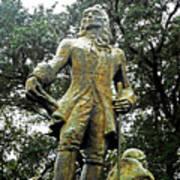 New Orleans Statues 1 Art Print
