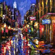 New Orleans Storm Art Print