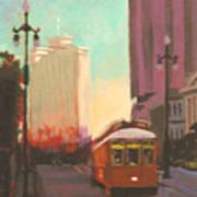 New Orleans Trolley Art Print