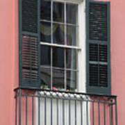 New Orleans Windows 4 Art Print