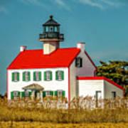 New Paint On East Point Lighthouse Art Print