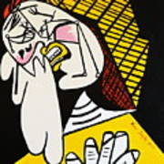 New Picasso The Weeper 2 Art Print